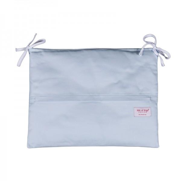 Kissen mit Bändern 50x38cm, uni oder gestreift