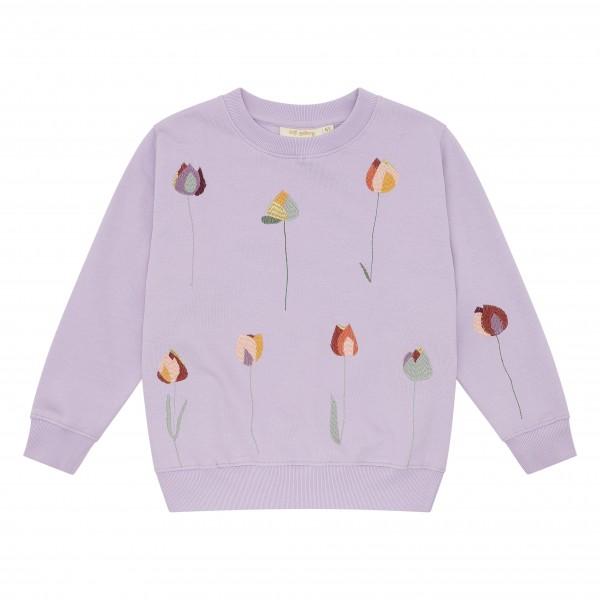 Soft Gallery Sweatshirt Baptiste Lavender Frost