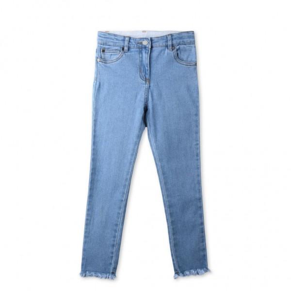 Jeans Nina mit Blumestickerei