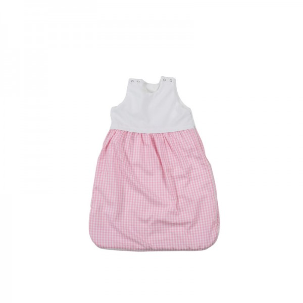 Schlafsack 4-Seasons mit Frottée, 90cm Farbe: rosa