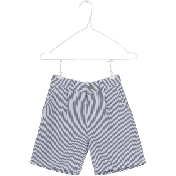 Gestreifte Shorts Blau Weiß