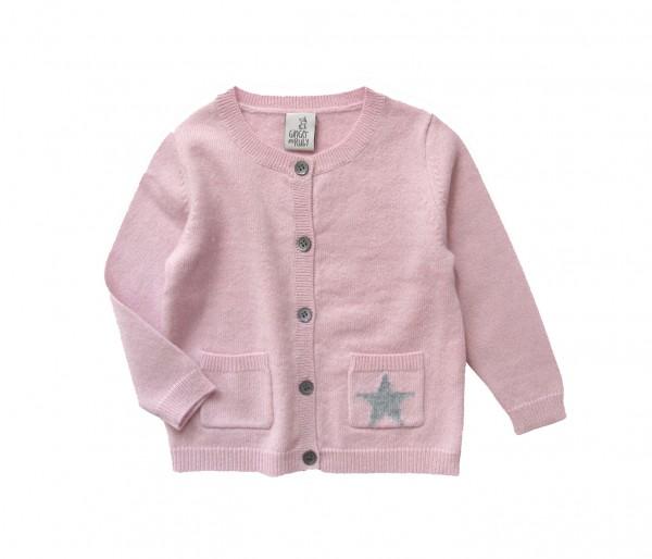 Baby Cardigan Starlight Rosé