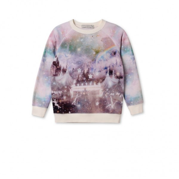 Sweatshirt Betty mit Magical Circus Print