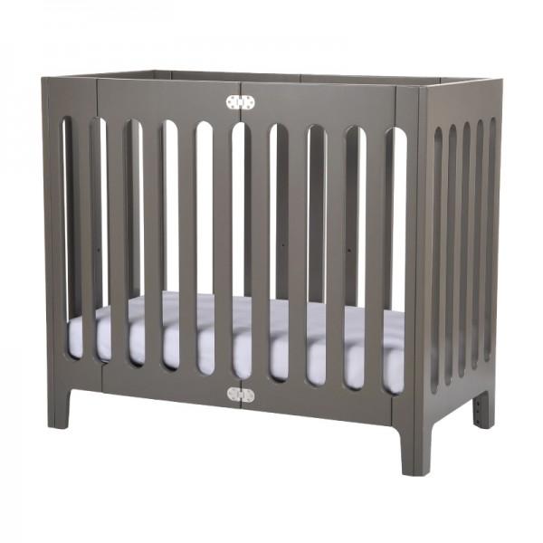 Bloom Crib Alma Mini Farbe: frost grey Liegefläche 45x90cm