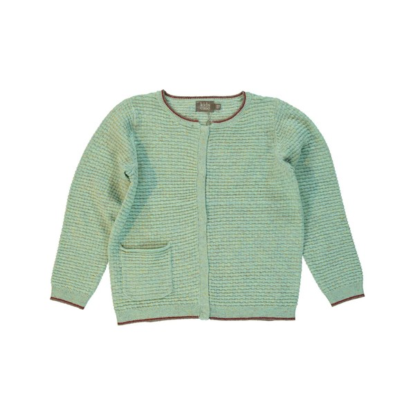 Strickjacke Lee groß Aqua
