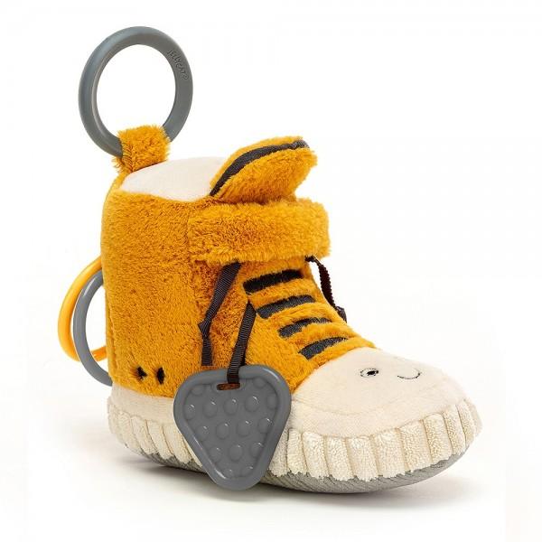 Jellycat Kicketty Sneacker Activity Toy