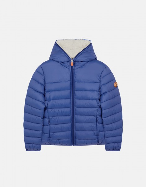 Winterjacke GIGAY mit Fell Royal Blue