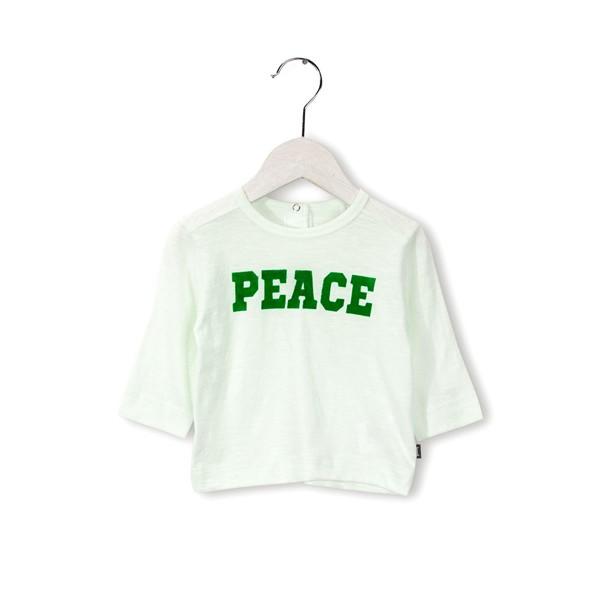 "Langarmshirt ""PEACE"" Precious Green"