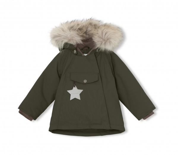 Winterjacke Wang Fur Forest Night