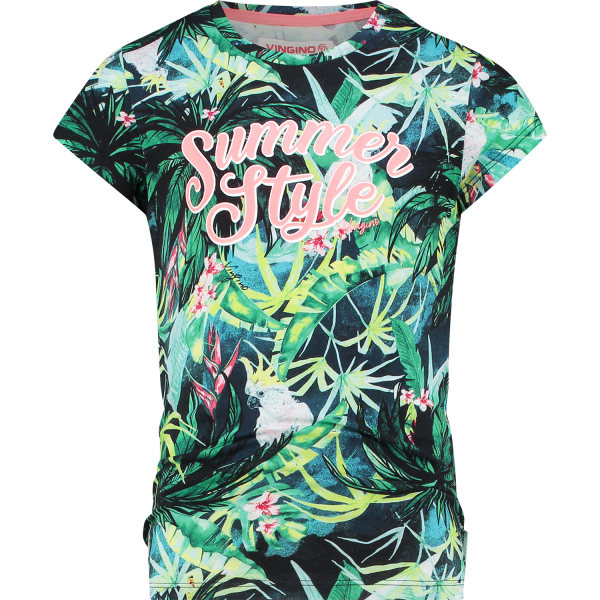 Vingino T-Shirt Hestie Multicolor Green