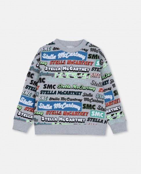 Stella McCartney Sweatshirt mit Logo-Print