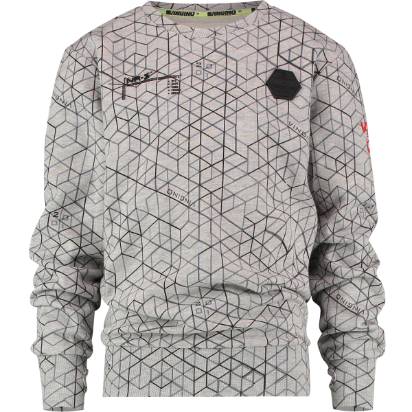 Vingino Sweater Nashe Light Grey Melee