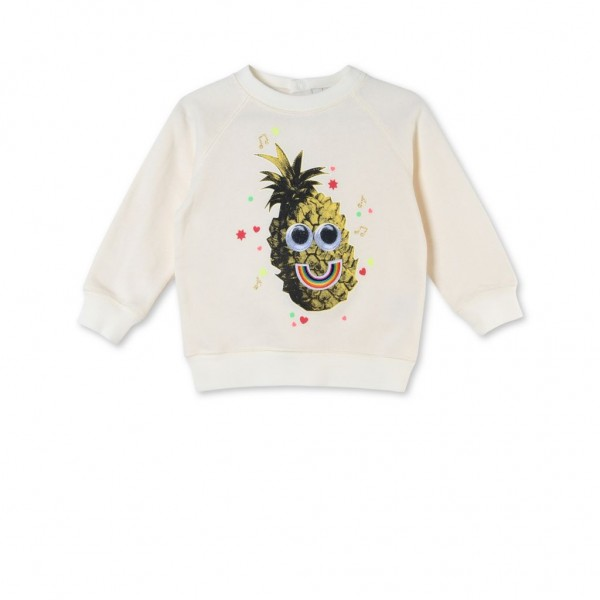 Sweatshirt Betty mit Ananasprint