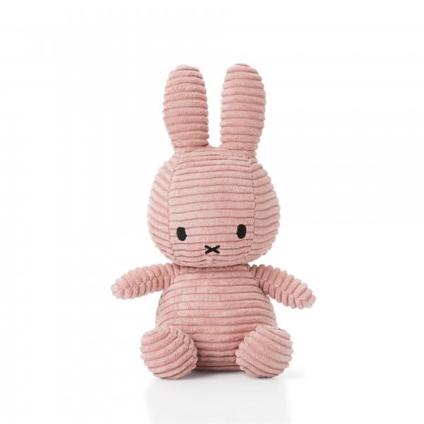 Miffy Sitting Corduroy 33cm Pink