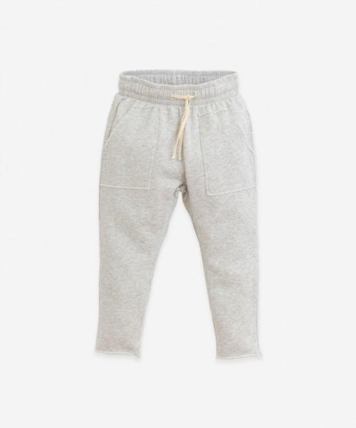 Play Up Fleece Pants Grey Melange