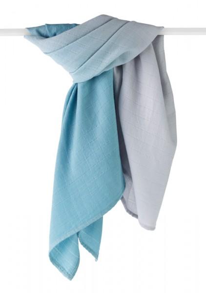 Swaddle Blanket aus Merinowolle, seaside