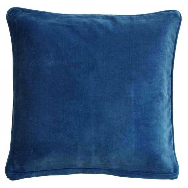 BUNGALOW DENMARK Samtkissen China Blue 50x50cm inkl. Füllung