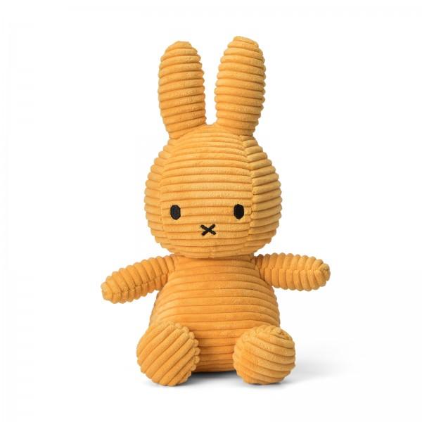 Miffy Sitting Corduroy 23cm Yellow