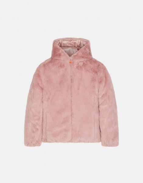 Winterjacke Furry Blush Pink