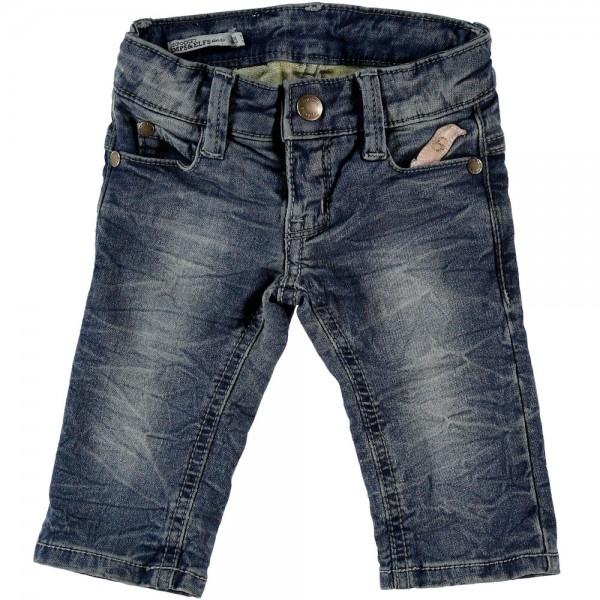Jeans slim fit mittelblaue Waschung