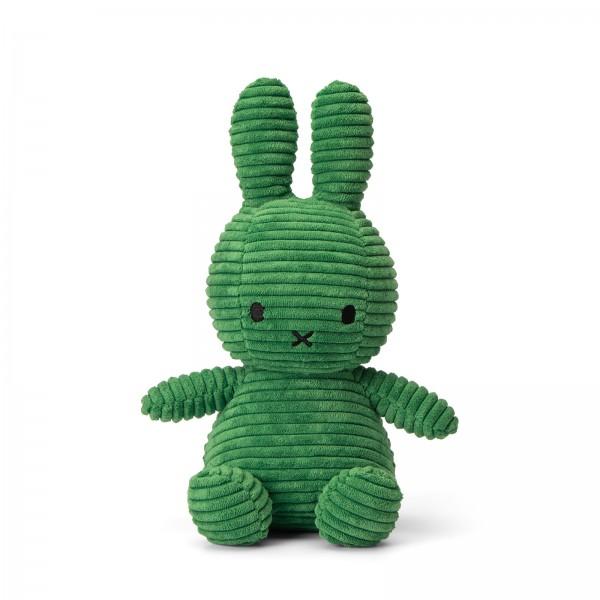 Miffy Sitting Corduroy 23cm Spring Green