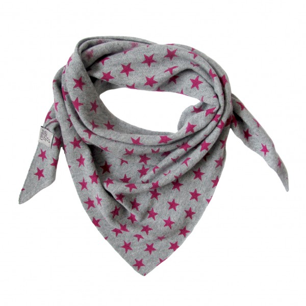 Baby und Kids Triangle Stars Grey/Pink