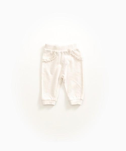 Hose aus Bio-Baumwolle Pearl