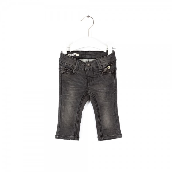 Jeans 6-Pocket Slim Shadow Grey