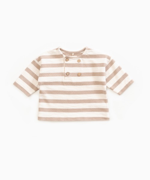 Gestreiftes Sweatshirt Pearl