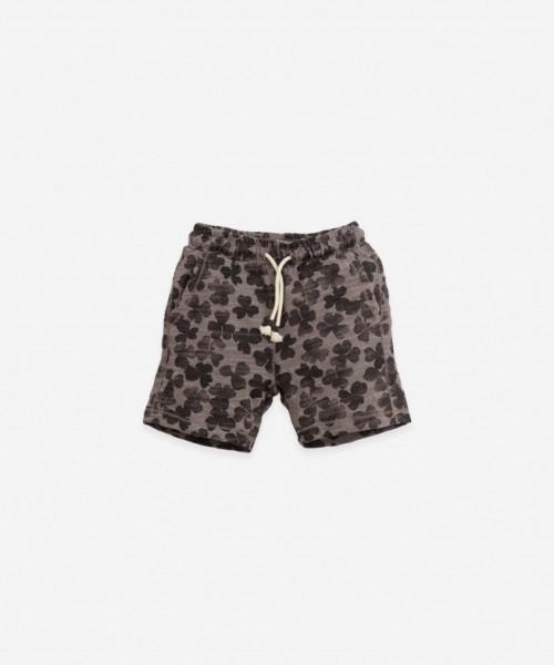 Play Up Printed Flamé Jersey Shorts Heidi