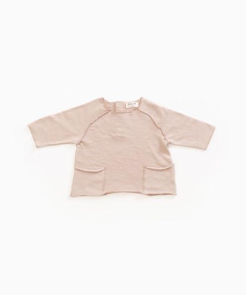 Langarmshirt aus Bio-Baumwolle Jute