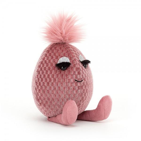Jellycat Pink Topaz Fabbyegg