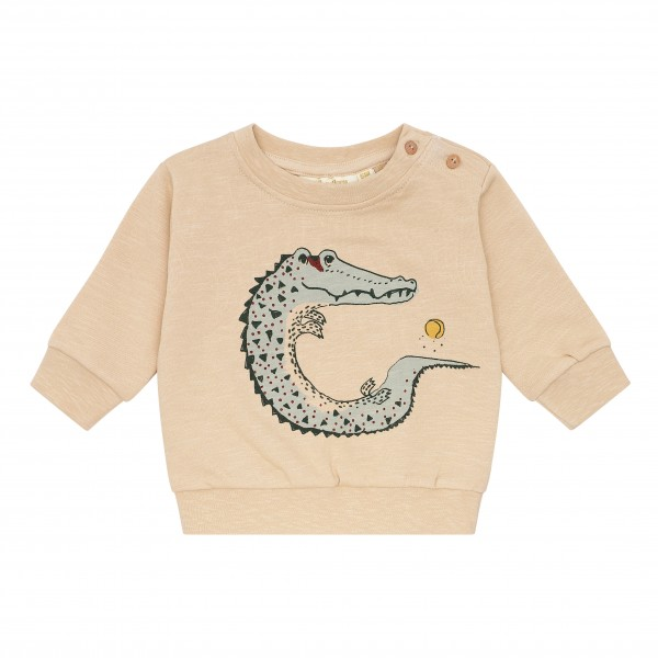 Soft Gallery Sweatshirt Buzz Beige Crocoball