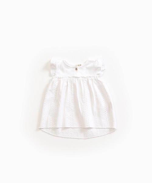Tunika aus Baumwolle-Leinen Gemisch Cotton