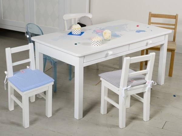 Spieltisch weiß oder bemalt