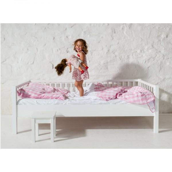 Couchbett ohne Rausfallschutz, 90x200cm Farbe: weiss