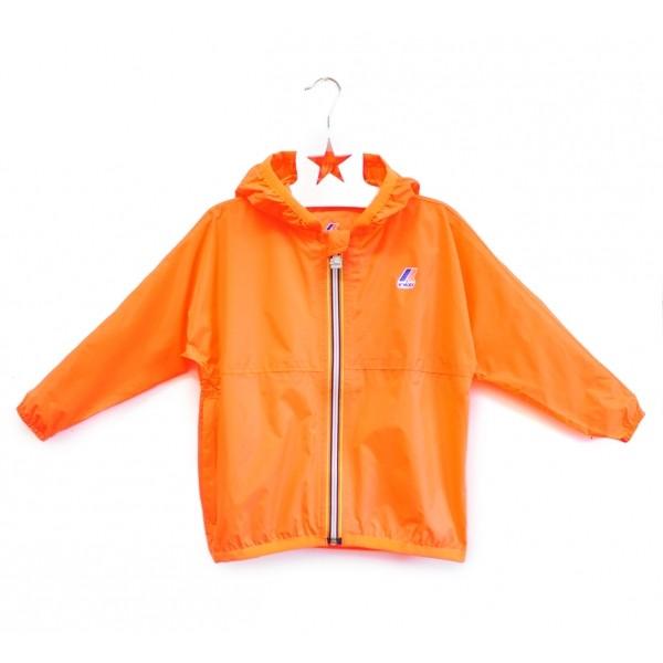 Regenjacke Le Vrai Claude Orange