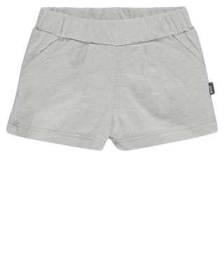 Shorts mit Gesäßtasche Grau