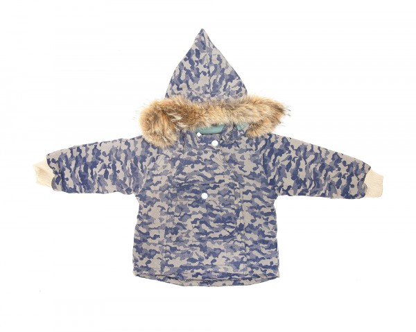 Mini A Ture Winterjacke Camouflage Fell
