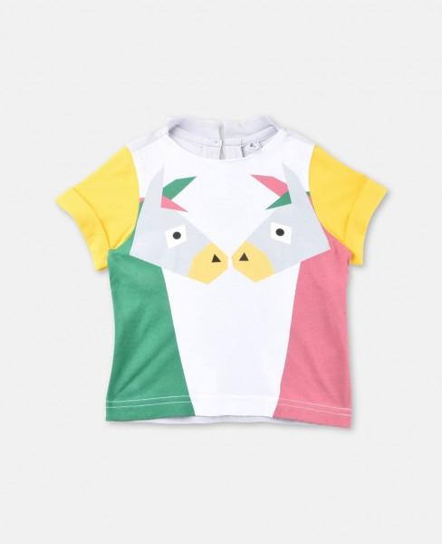 T-Shirt Isla mit mit küssenden Eseln Bunt