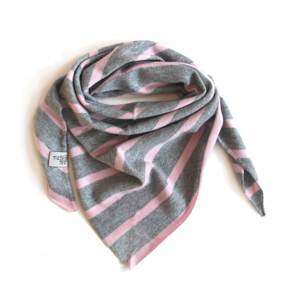 Baby und Kids Triangle Stripes Rose/Grey