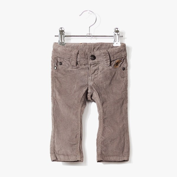 Cordhose Night Grey