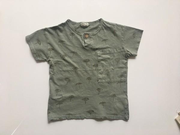 T-Shirt aus Biobaumwolle Leinengemisch codium