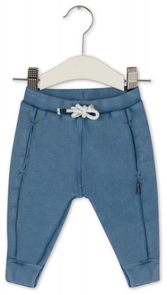Sweathose Vintagelook Blau