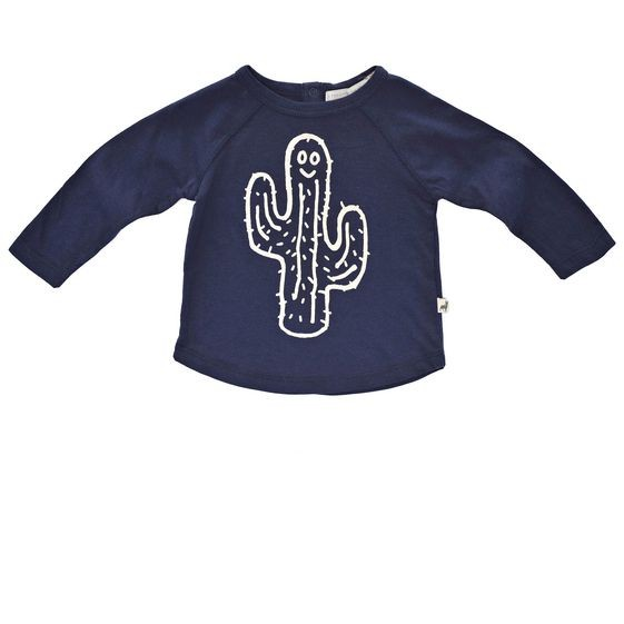 T-Shirt Max mit Kaktusprint