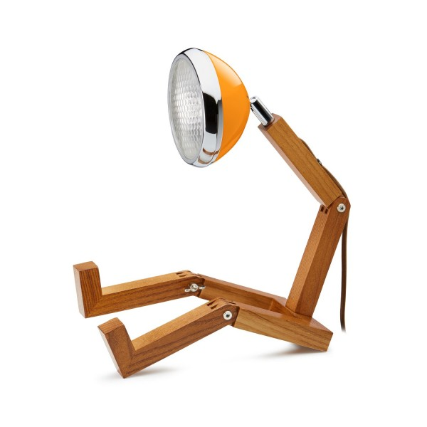 Mr. Wattson Original Table Lamp Ash McLaren Orange