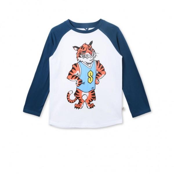 Langarmshirt Max mit Tiger Print