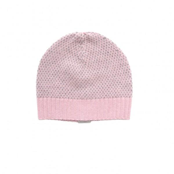 Baby Mütze Snowflake Rosé