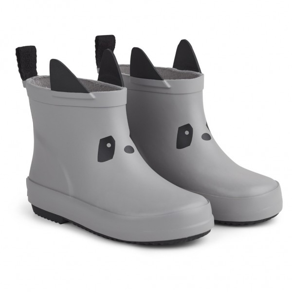 Tobi Rain Boot Panda Dumbo Grey