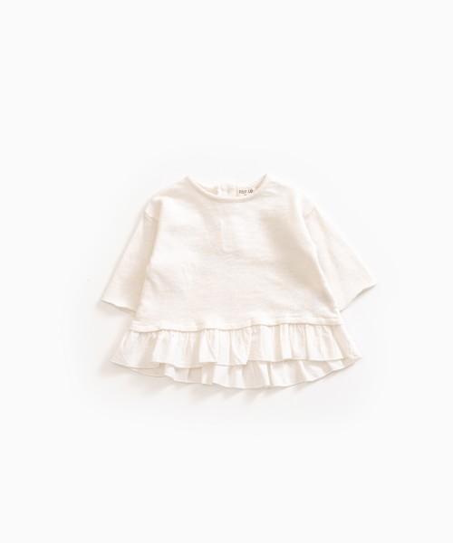 Langarmshirt aus Bio-Baumwolle Pearl